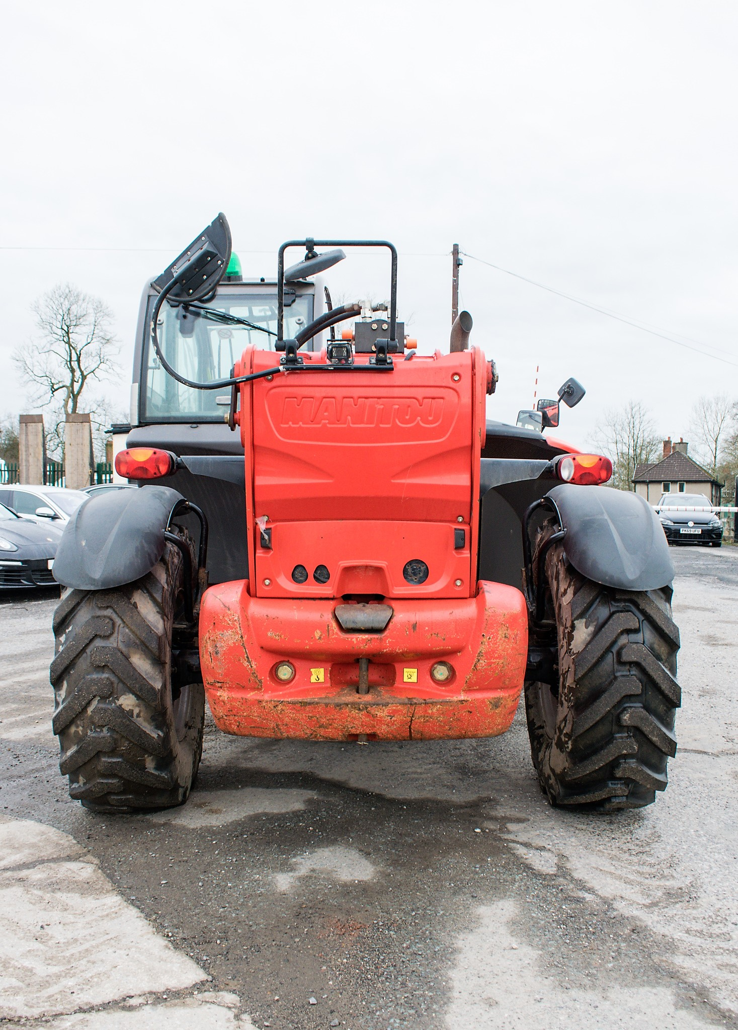 Manitou MT1840 18 metre telescopic handler Year: 2014 S/N: 942628 Recorded Hours: 4160 c/w sway - Image 6 of 22