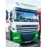 DAF 105-460 3 axle + artic 6 x 2 tractor unit Registration number: YX09 RYP Date of first