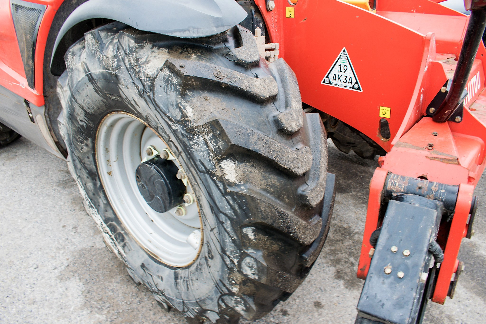 Manitou MT1840 18 metre telescopic handler Year: 2014 S/N: 942628 Recorded Hours: 4160 c/w sway - Image 13 of 22