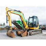 JCB 8085 Eco ZTS 8.5 tonne rubber tracked excavator Year: 2013 S/N: 1073096 Recorded Hours: 91952 (