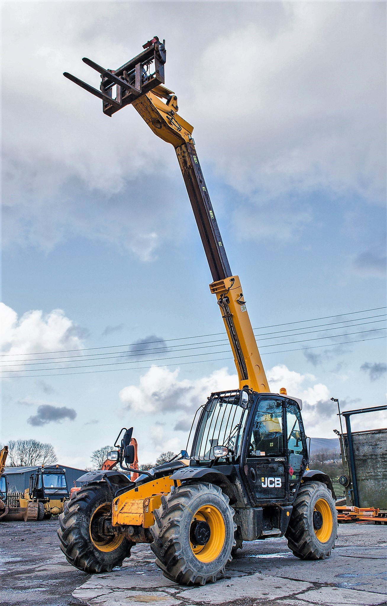 JCB 531-70 7 metre telescopic handler Year: 2013 S/N: 2176575 Reg No: MX13 PHY Recorded Hours: - Image 9 of 19