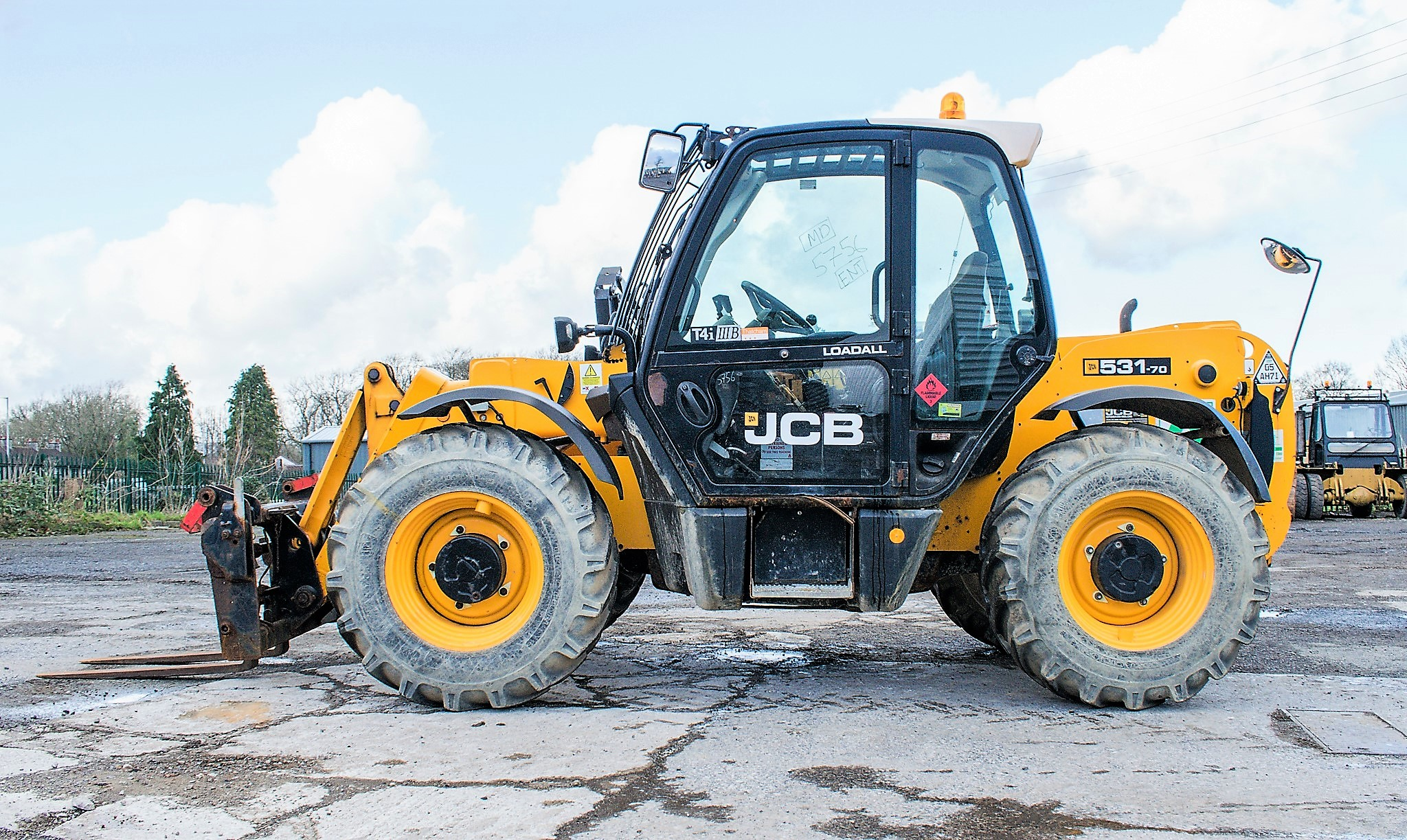 JCB 531-70 7 metre telescopic handler Year: 2013 S/N: 2176575 Reg No: MX13 PHY Recorded Hours: - Image 7 of 19