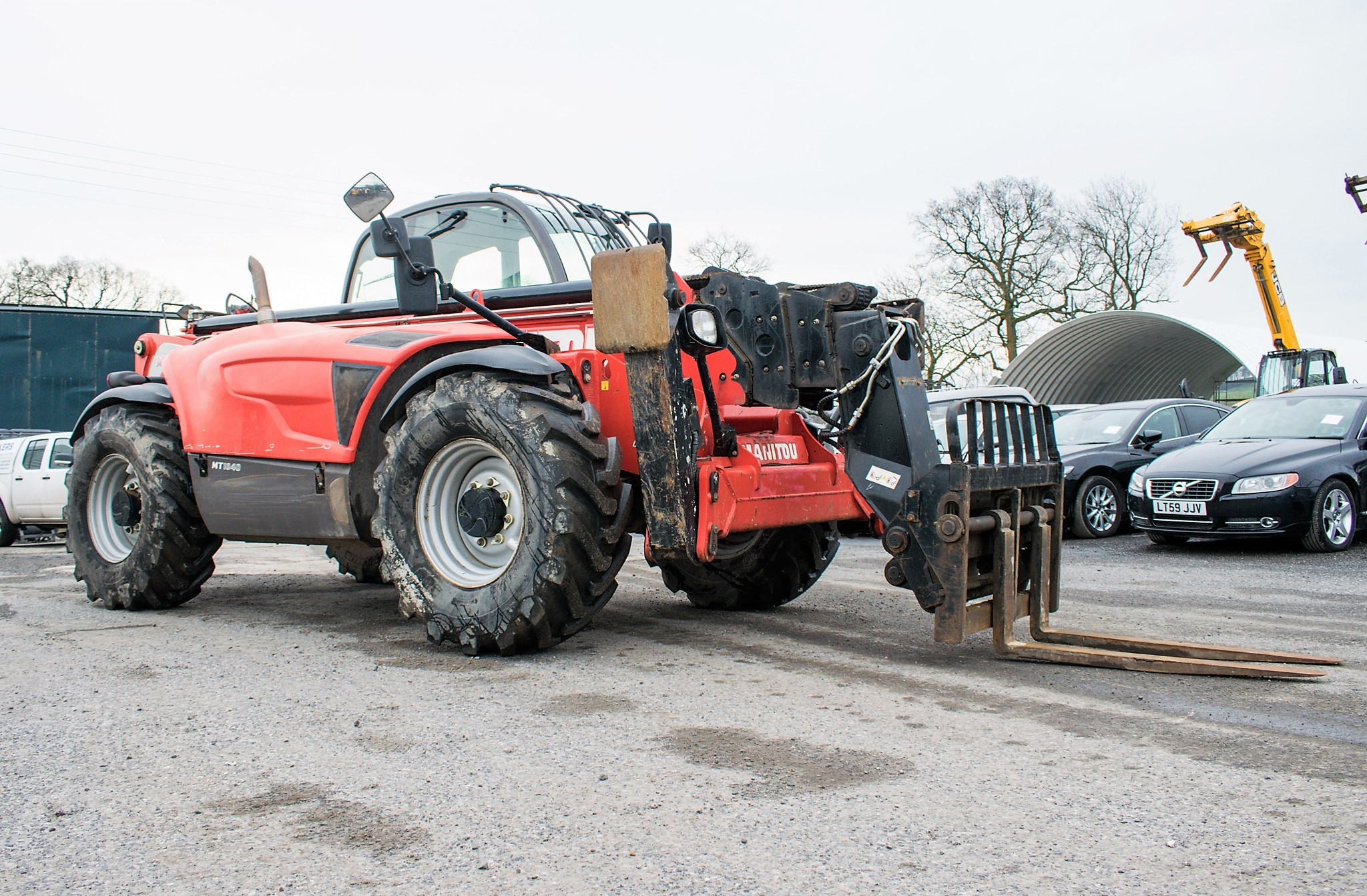 Manitou MT1840 18 metre telescopic handler Year: 2014 S/N: 942628 Recorded Hours: 4160 c/w sway - Image 2 of 22