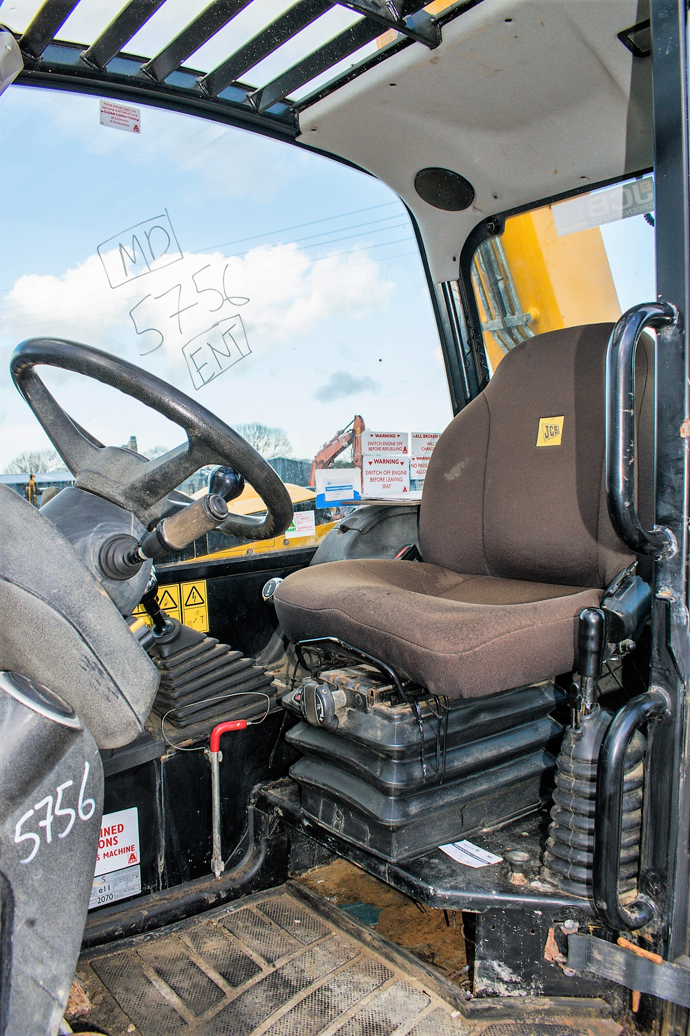 JCB 531-70 7 metre telescopic handler Year: 2013 S/N: 2176575 Reg No: MX13 PHY Recorded Hours: - Image 18 of 19