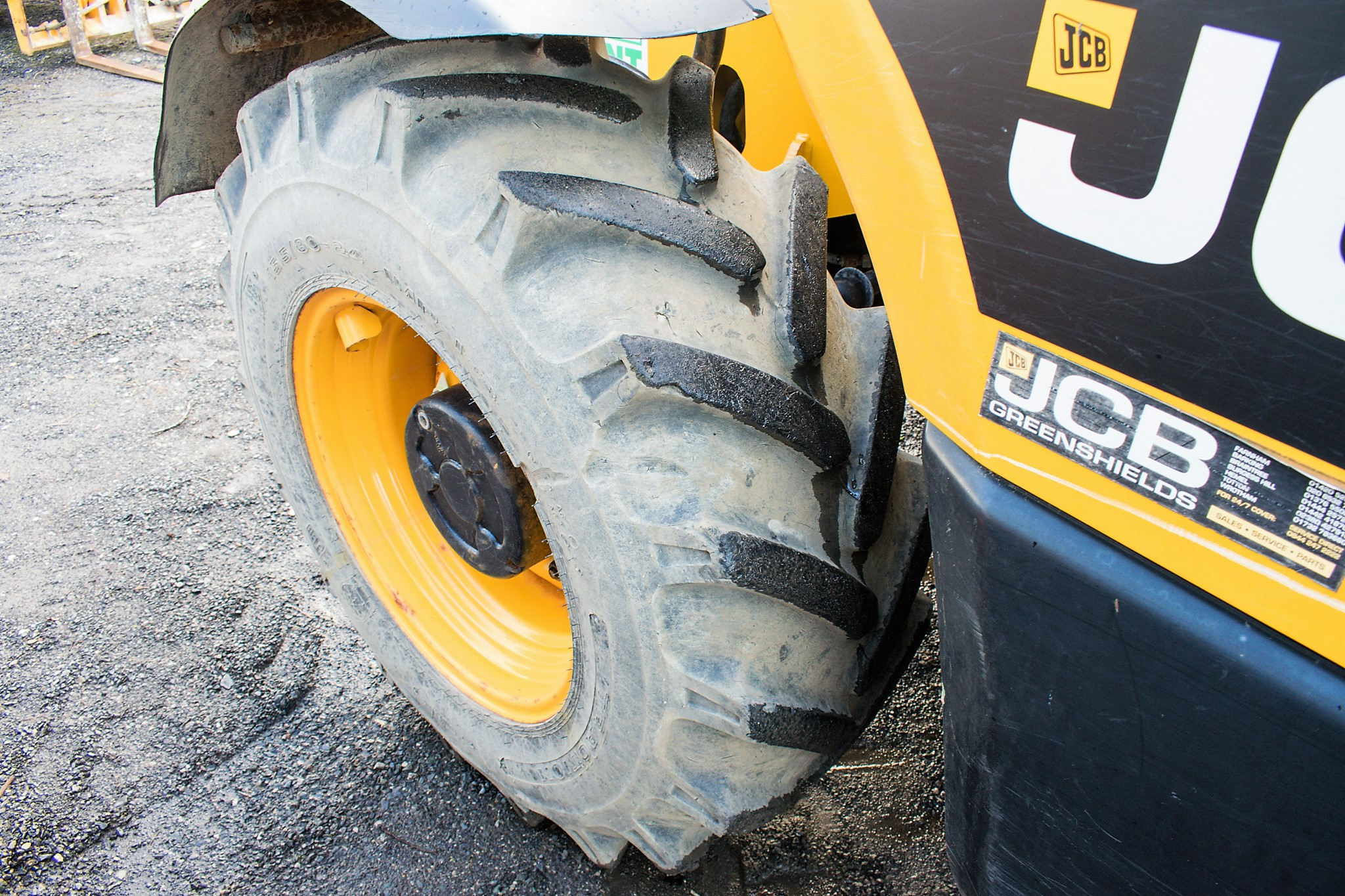 JCB 531-70 7 metre telescopic handler Year: 2013 S/N: 2176575 Reg No: MX13 PHY Recorded Hours: - Image 11 of 19