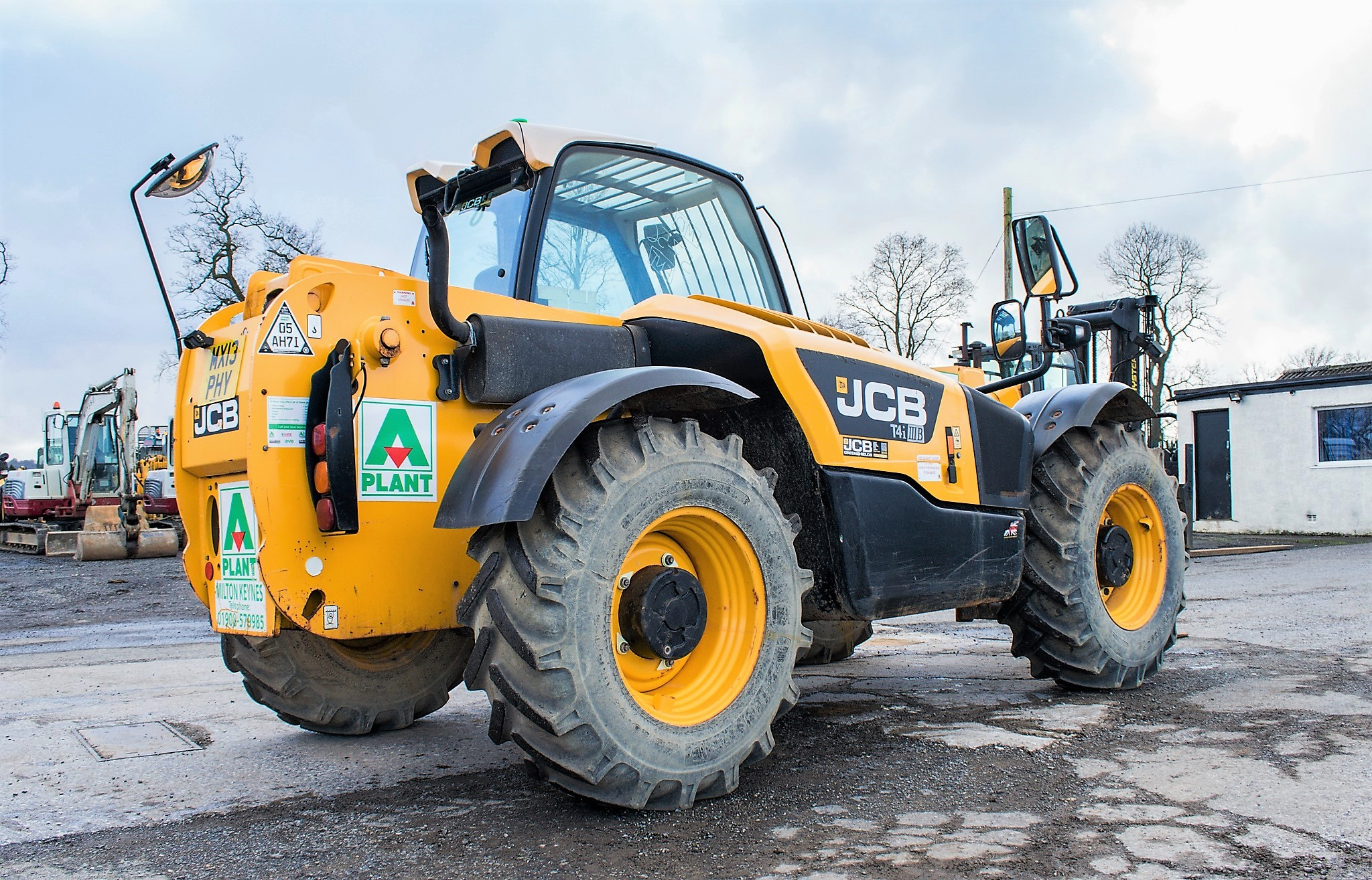JCB 531-70 7 metre telescopic handler Year: 2013 S/N: 2176575 Reg No: MX13 PHY Recorded Hours: - Image 4 of 19