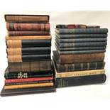 SELECTION OF VARIOUS BOOKS including 'Burns Manuscripts in Kilmarnock Monument' 1889; 'The