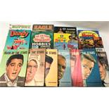 SELECTION OF CHILDREN'S ANNUALS including Tiger annual 1964, 'Top Numbers' Book of the Stars' No.9 -