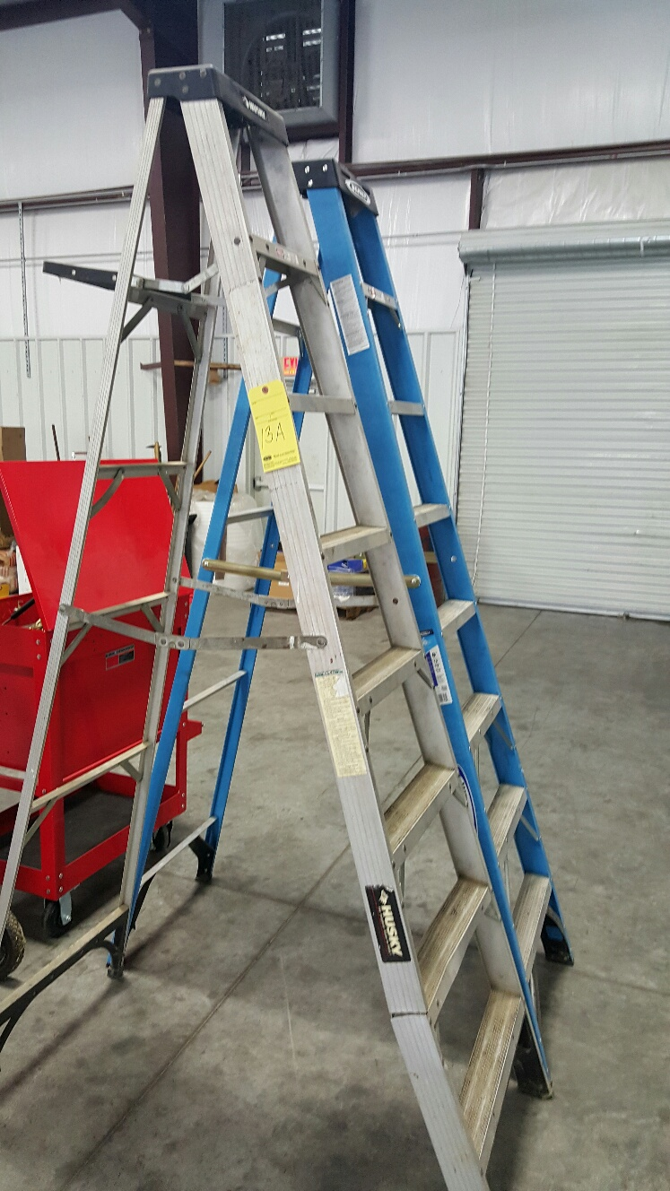 Lot 13A - A FRAME LADDERS