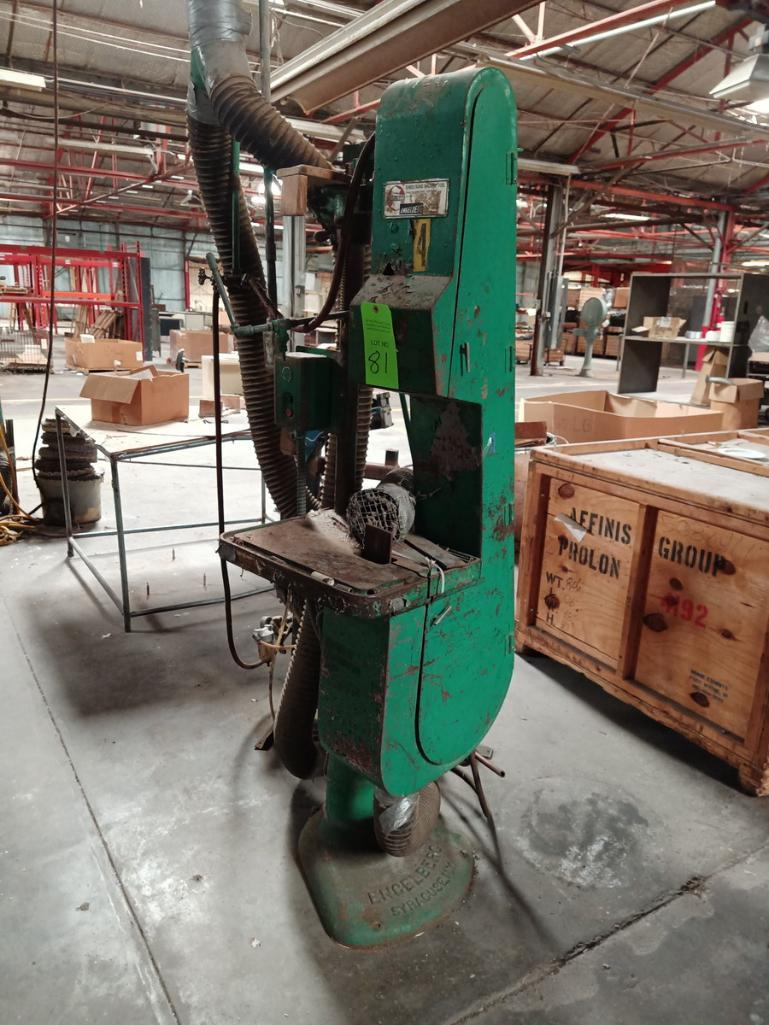 Sunstrand Machine Co. Belt Sander