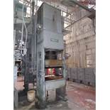 French 400T 4-Post Compression Molding Press