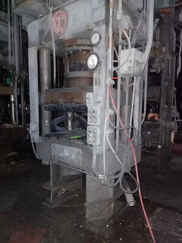 HPM 400T 4-Post Compression Molding Press - Image 3 of 4