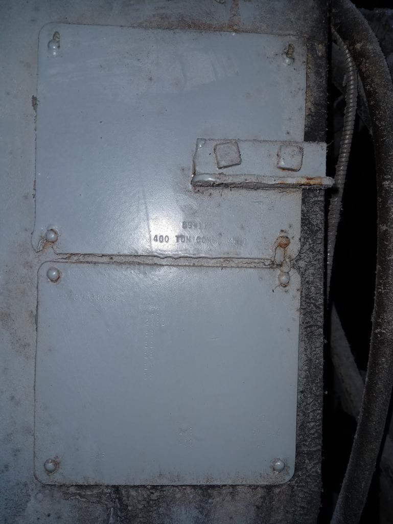 HPM 400T 4-Post Compression Molding Press - Image 4 of 4