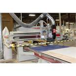 2006 Komo CNC router, model VR512, sn 57103-06, hrs. on CNC router 4,857, 5'x 12' table, 9