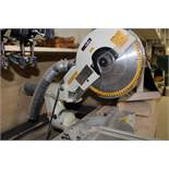 Makita LS124F mitre saw, w/10'table.