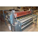 "1994 HMT laminator, sn B62-CC-510, 64"" wide, 120"" in-feed."