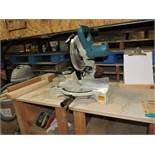 Makita mitre saw, model LS10404.
