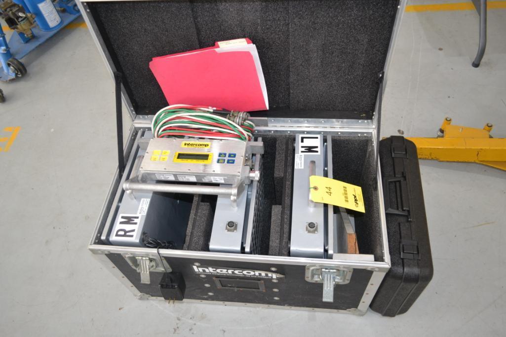 Intercomp 19,500 lb. Digital Aircraft Weighing System Model AC II, S/N 25042360 (2018), P/N