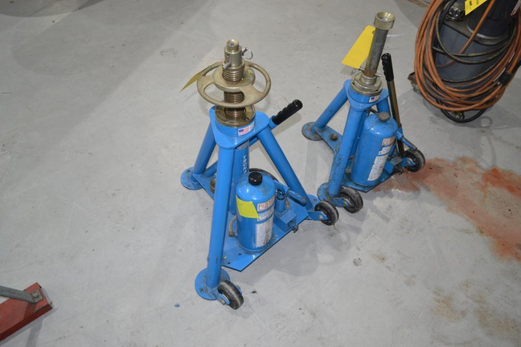 Tronair 10,000 lb. Portable Hydraulic Jack Model 02-0526-0110, S/N 1843350103