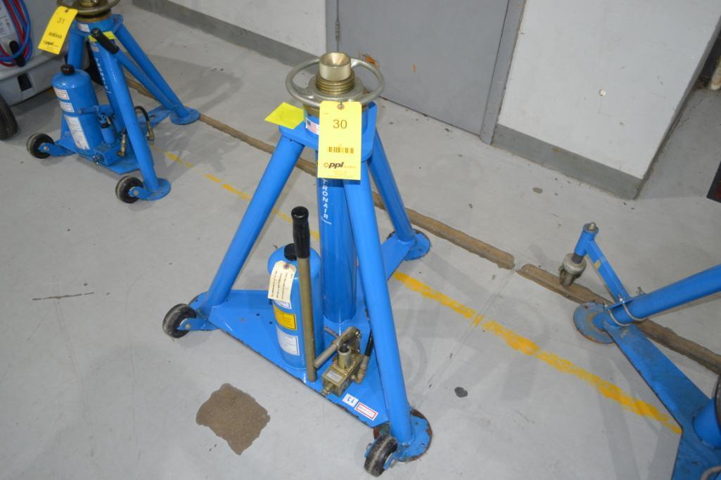 Tronair 20,000 lb. Portable Hydraulic Jack Model 02-1036-0100, S/N 0848051109