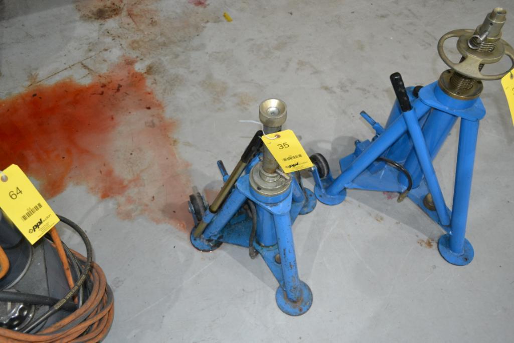 Tronair 10,000 lb. Portable Hydraulic Jack Model 02-0520-0100, S/N 8805-10844