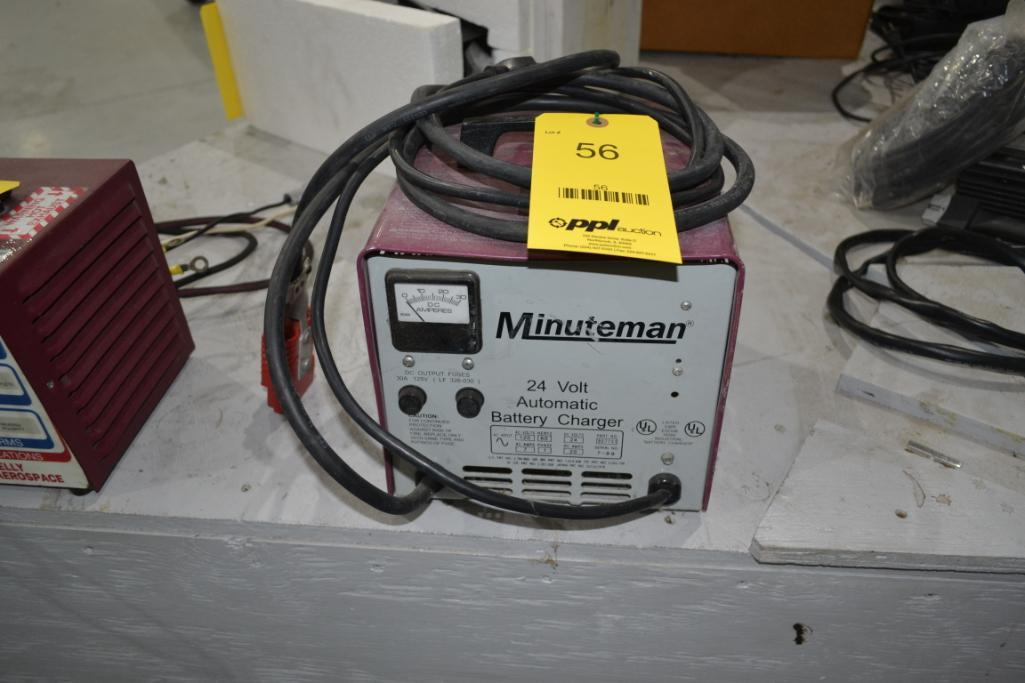 Minuteman 24 Volt Automatic Battery Charger