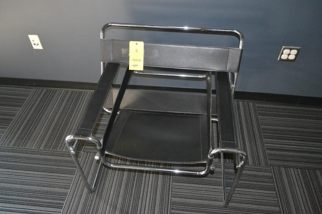 Wassily Reproduction Black & Chrome Chair