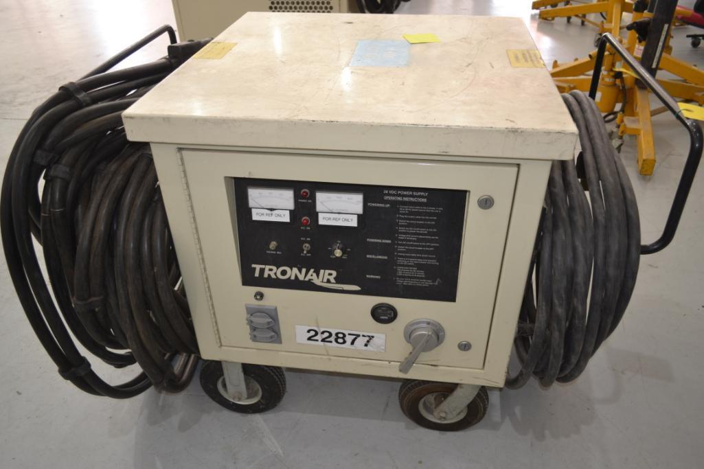 Tronair Portable GPU Model 11-6621-1000, S/N 301105, 28V DC Power Supply