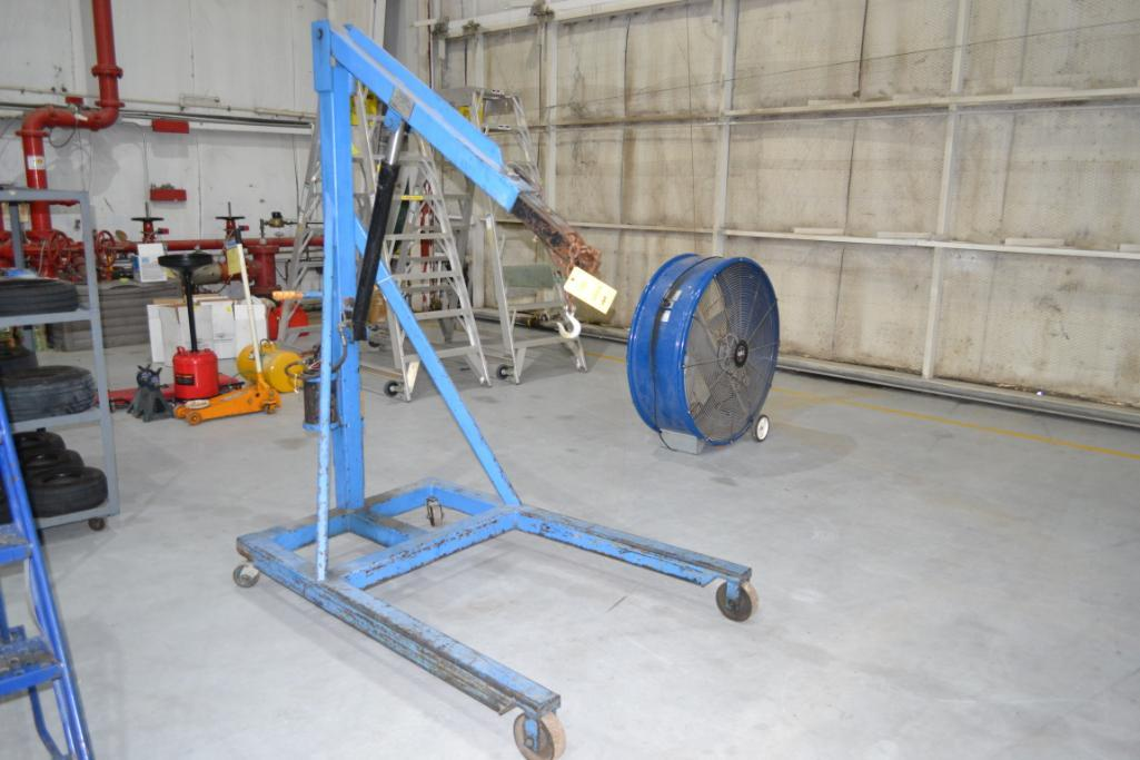 Airborne Support Systems 4000 lb. Portable Hydraulic Engine Hoist