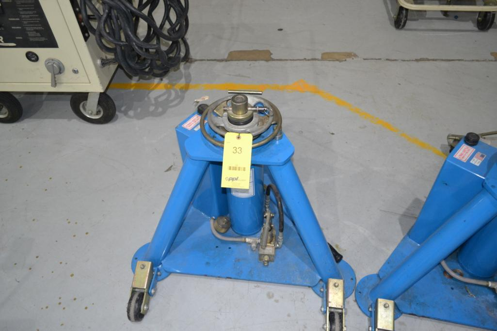 Tronair 20,000 lb. Portable Hydraulic Jack Model 02-7815-0110, S/N 3100080102