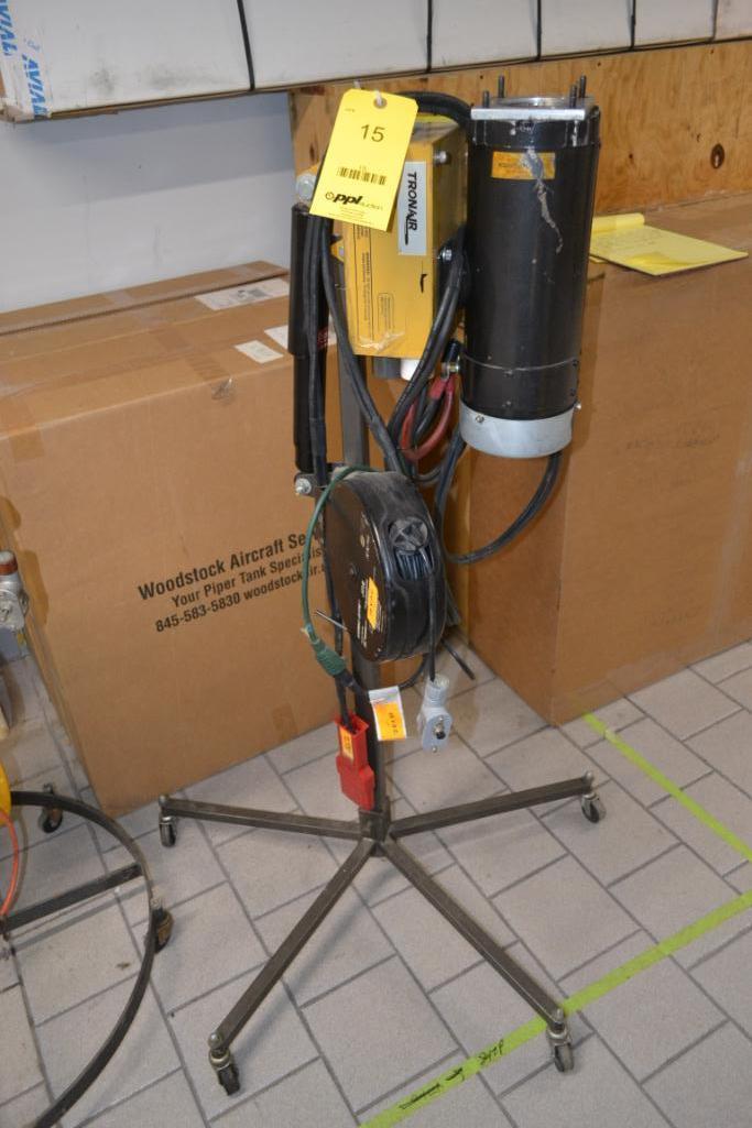 Tronair Portable Hydraulic Mule Model 13-6603-6000, S/N 0117060201
