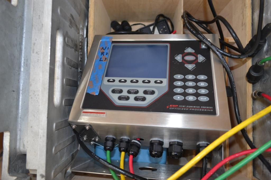 Rice Lake 45,000 lb. 3-Platform Digital Weighing System with Programmable HMI Indicator/ - Image 2 of 2