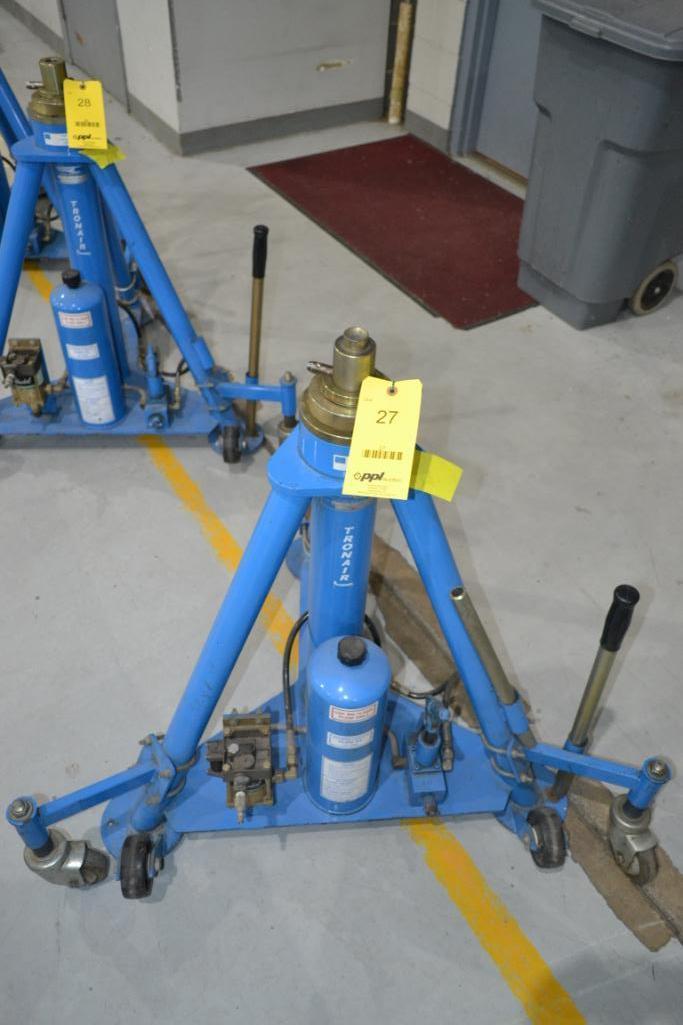 Tronair 20,000 lb. Portable Hydraulic Jack Model 02-1036-0100, S/N N/A