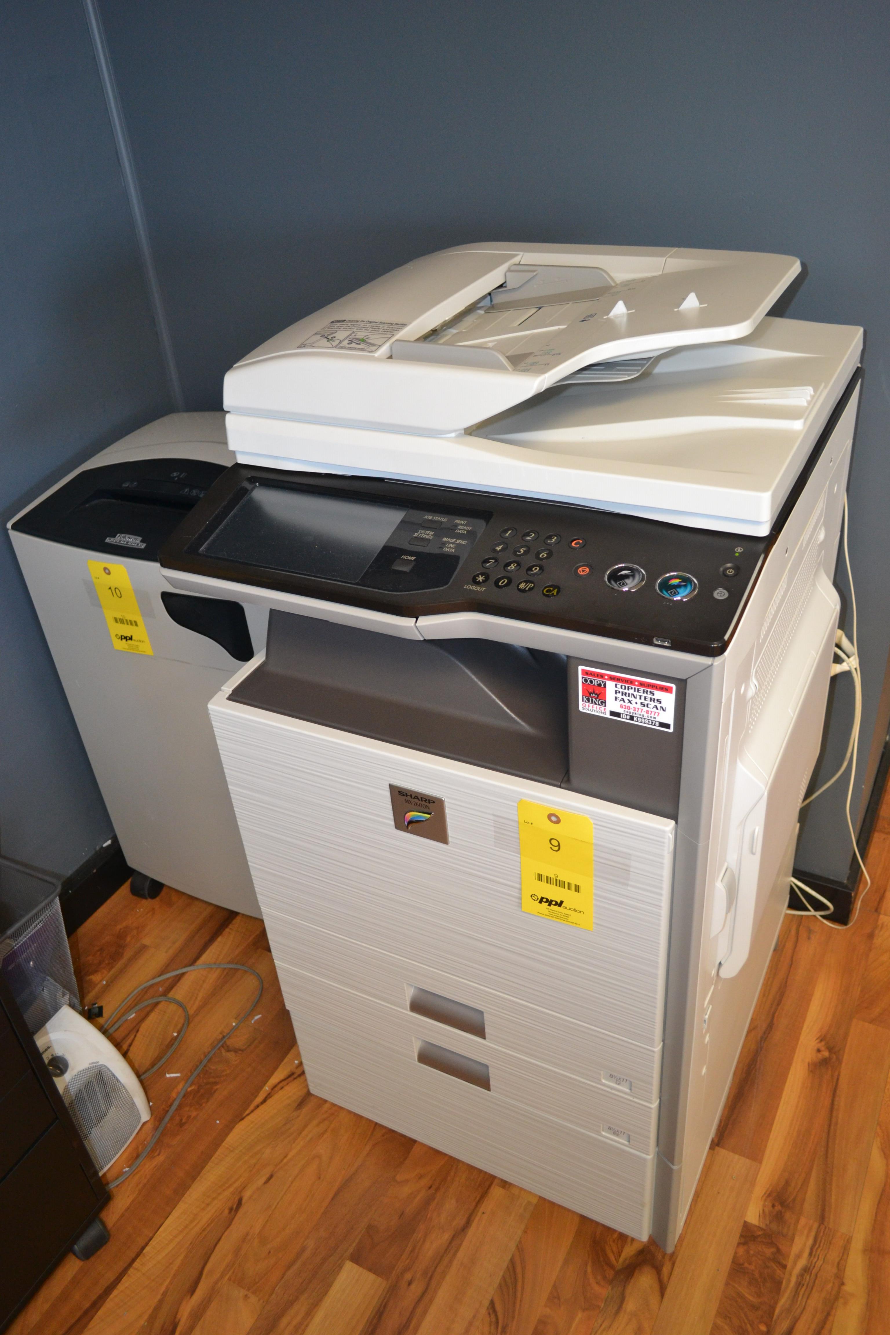 Sharp Copier/Scanner Model MX2600N