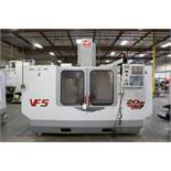 """Haas VF-5, 50"""" x 26"""" x 25"""" Travels, 20 Position Tool Carousel, CT-40 Taper, s/n 19337, New 2000"""