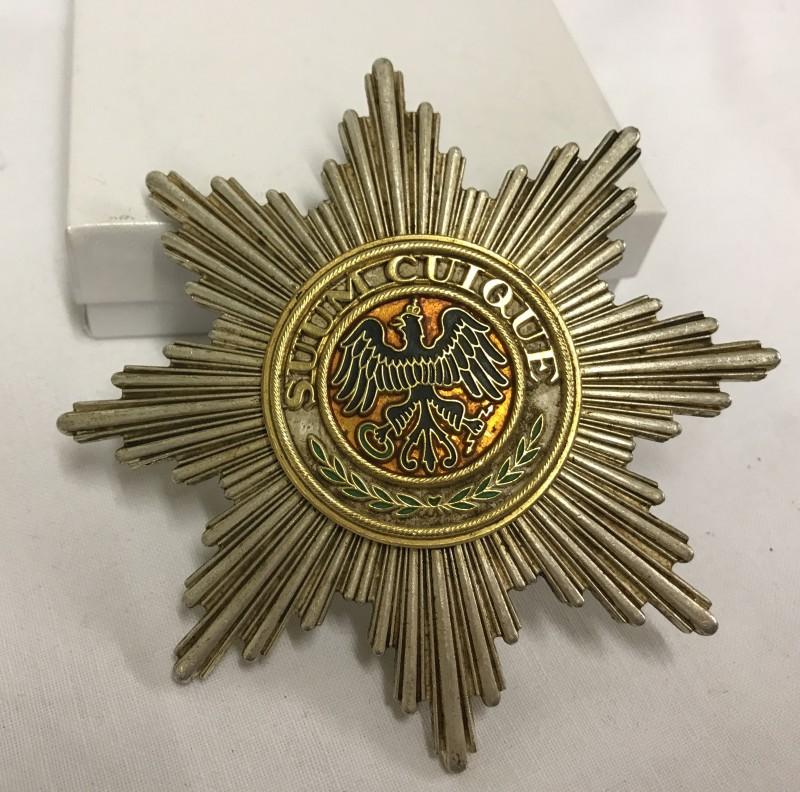 Lot 140 - Imperial German Order of The Black Eagle, Impressive Breast Star (modern).