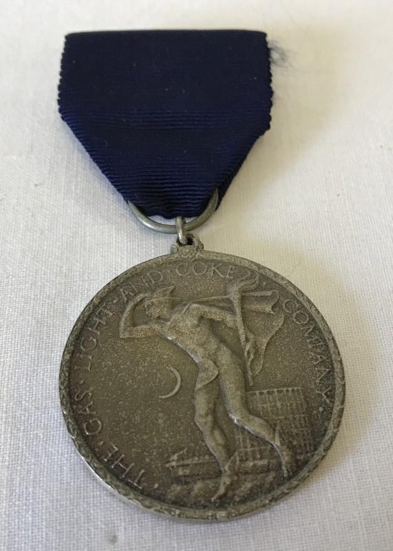 Lot 62 - The Gas Light & Coke Company Faithful Service medal.