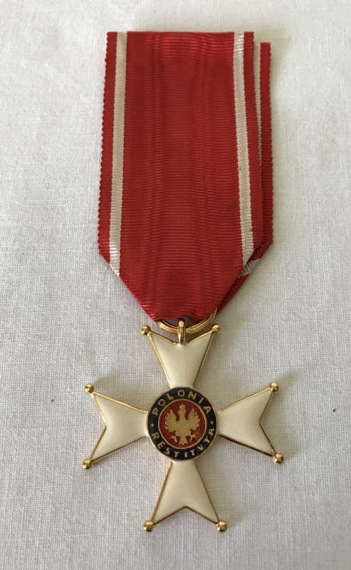 Lot 3 - A 1918 Polish Order of Polonia Resituta.