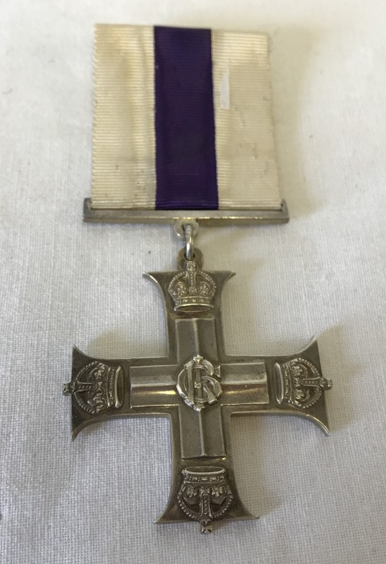 Lot 107 - A WWI Military Cross, George V, unnamed, as issued.