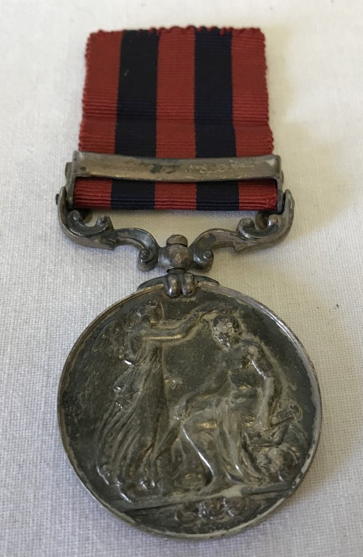 Lot 104 - An Indian General Service 1854 bar Burma 1885-87 medal.