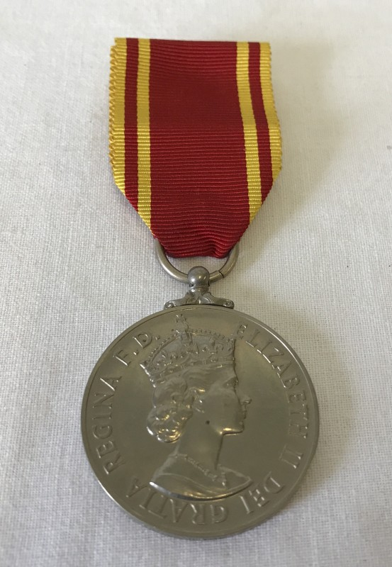 Lot 122 - A Fire Brigade Long Service and Good Conduct EIIR medal.