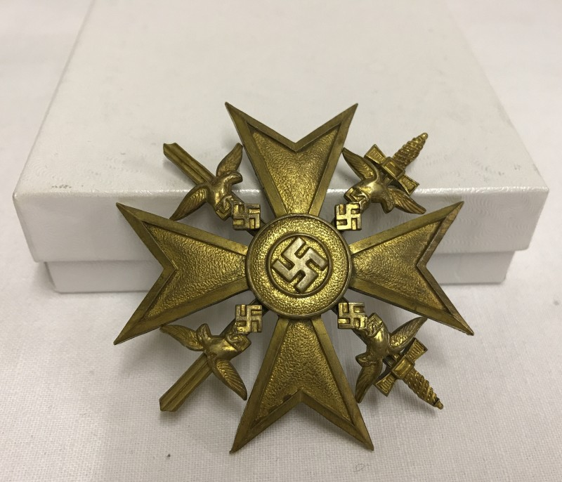 "Lot 43 - A German Spanish Civil War ""Spanish Cross""."