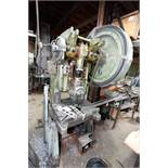 BROWN BOGGS 15 LW 40 TON OBI PUNCH PRESS, MECHANICAL CLUTCH