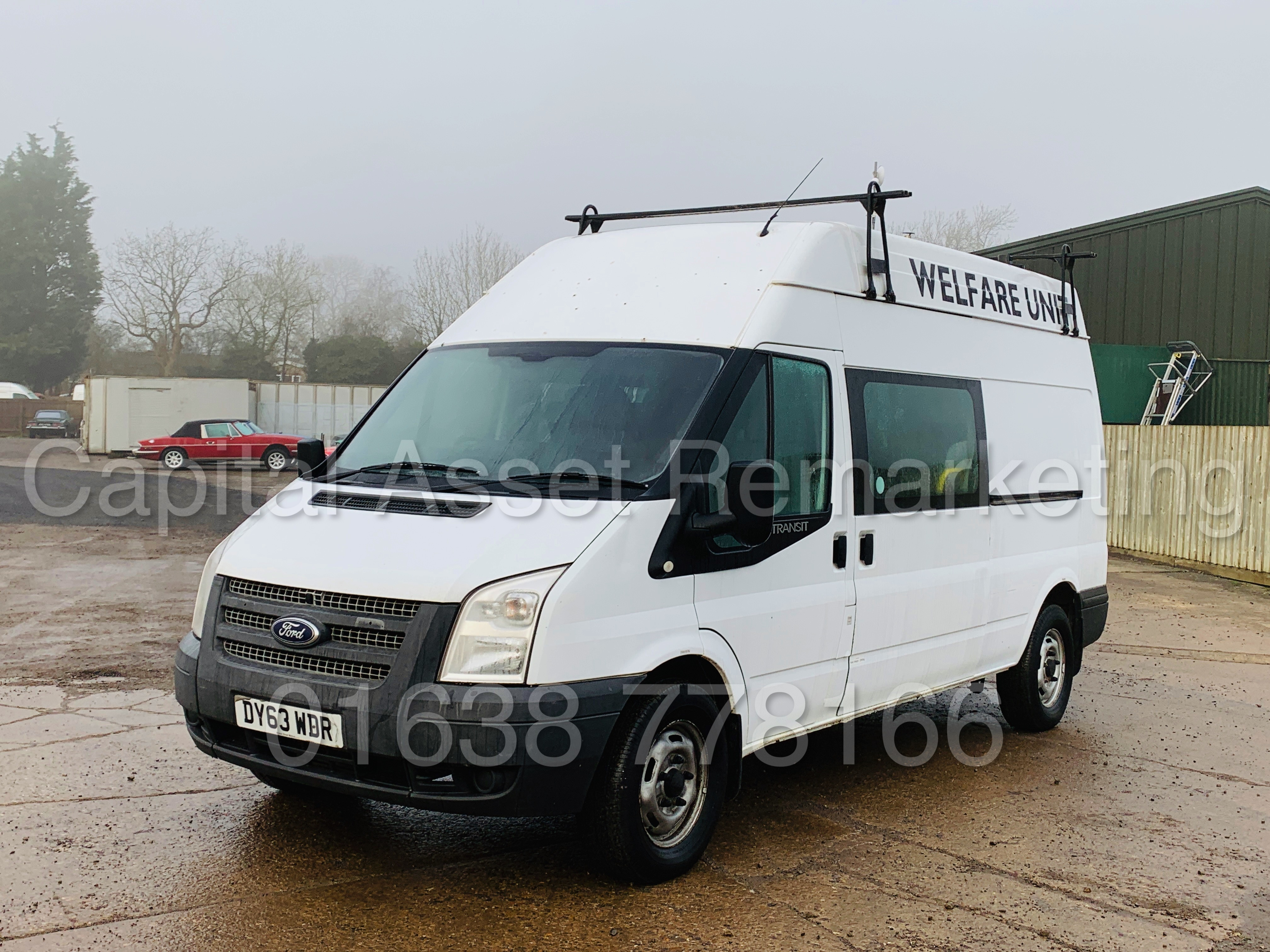 FORD TRANSIT T350 *LWB - 7 SEATER MESSING UNIT* (2014 MODEL) '2.4 TDCI - 6 SPEED' *ON BOARD TOILET* - Image 5 of 44