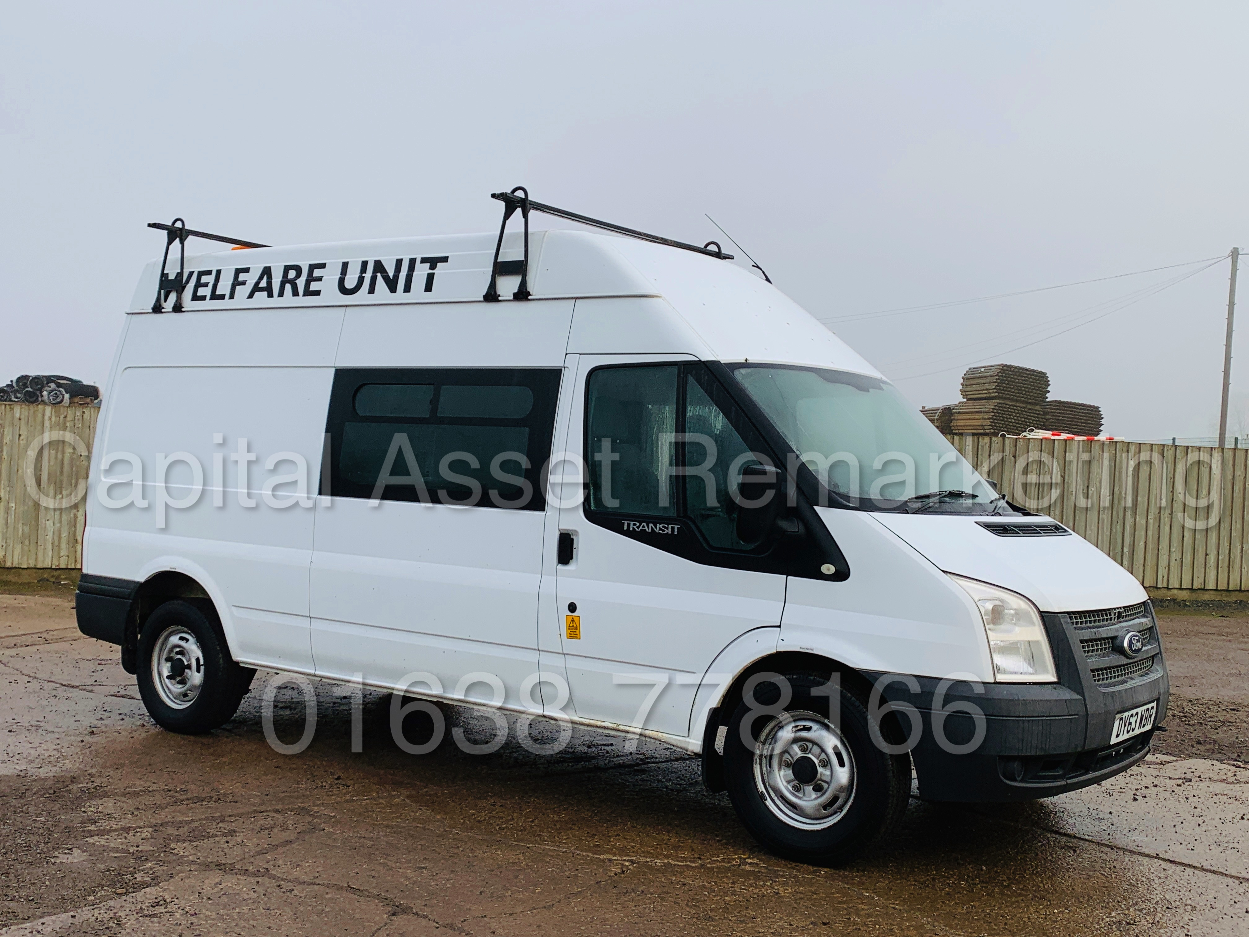 FORD TRANSIT T350 *LWB - 7 SEATER MESSING UNIT* (2014 MODEL) '2.4 TDCI - 6 SPEED' *ON BOARD TOILET* - Image 2 of 44