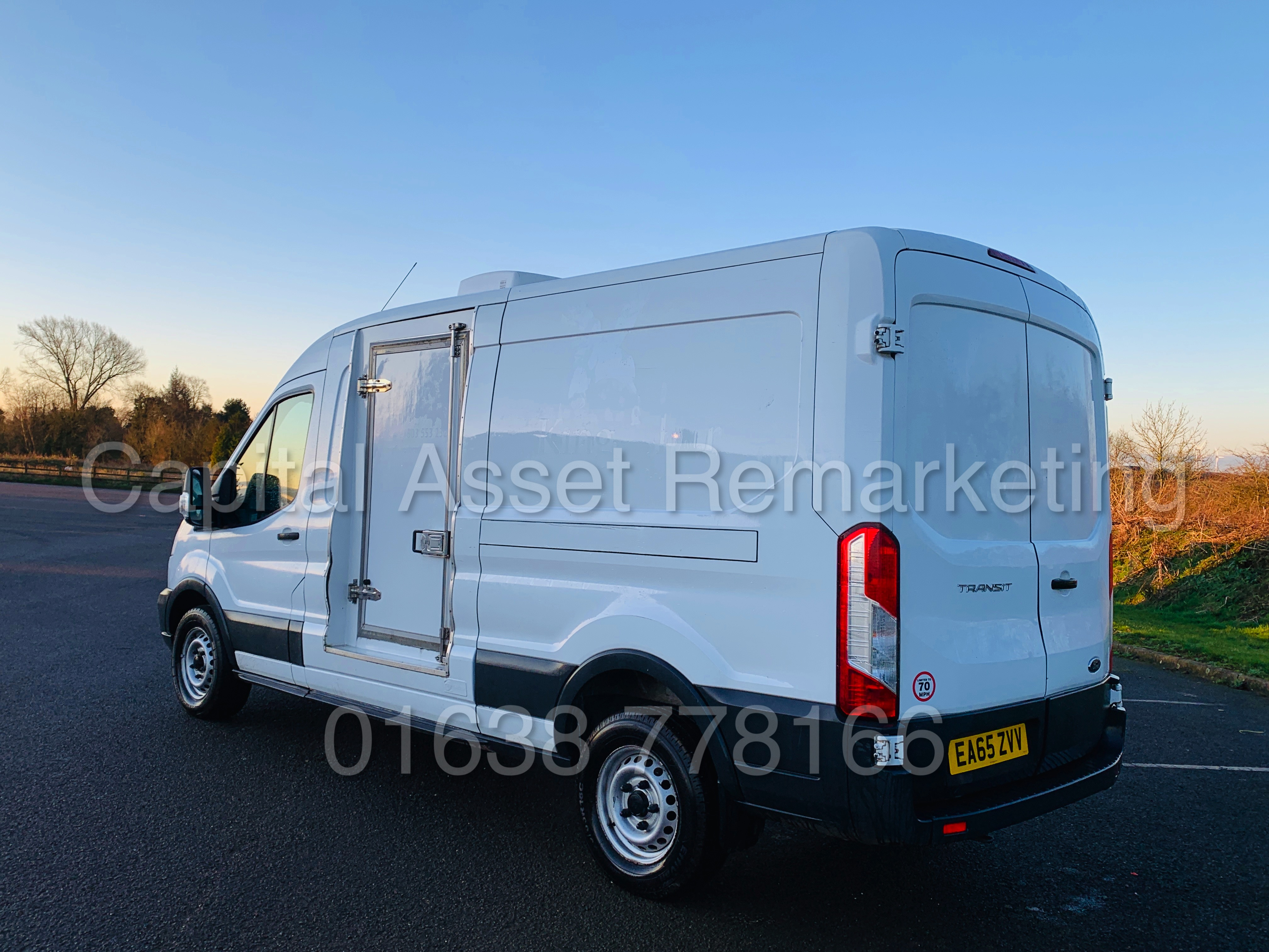 (On Sale) FORD TRANSIT T350 *LWB - REFRIGERATED VAN* (65 REG) '2.2 TDCI -125 BHP- 6 SPEED' (1 OWNER) - Image 8 of 43