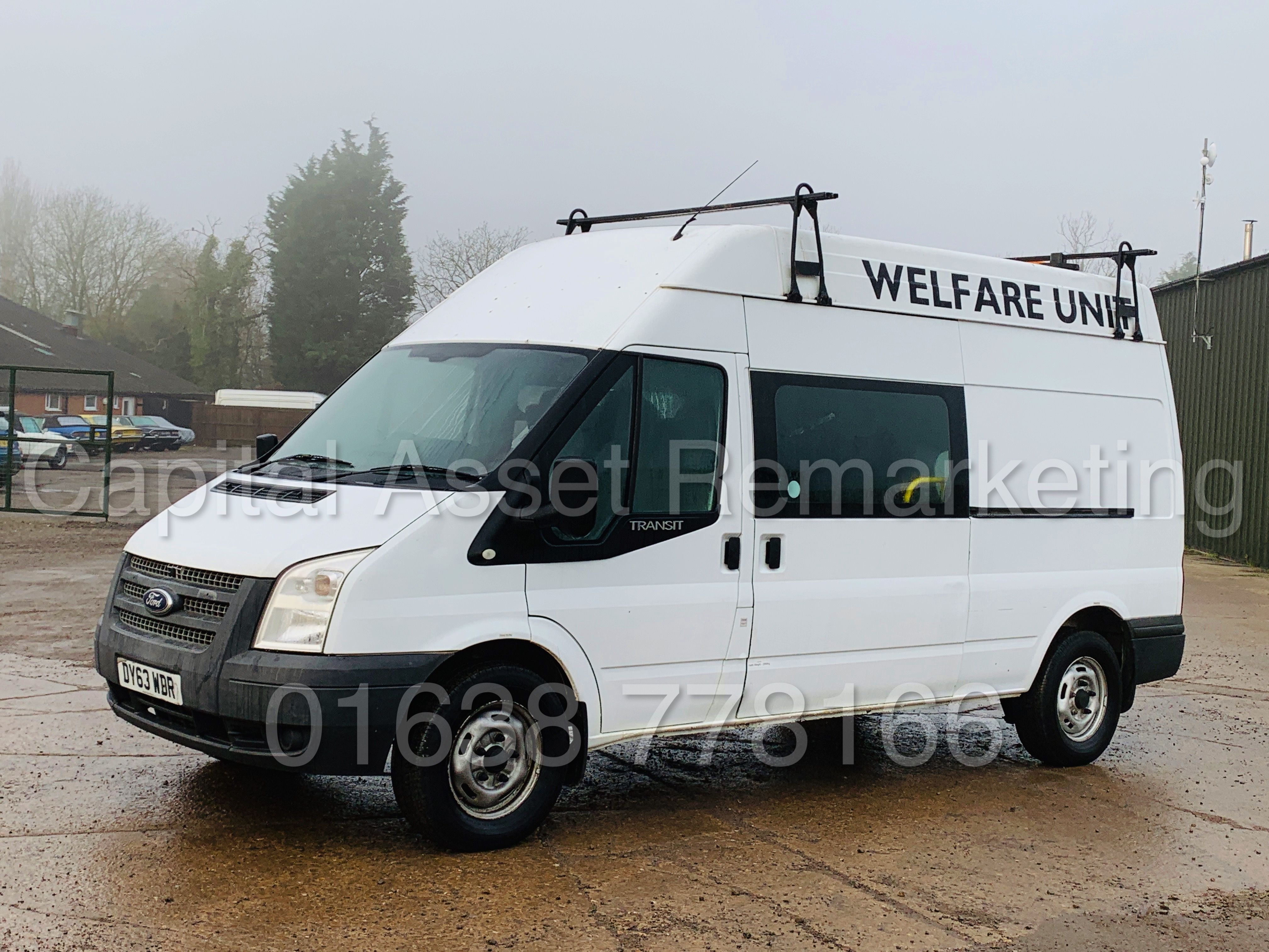 FORD TRANSIT T350 *LWB - 7 SEATER MESSING UNIT* (2014 MODEL) '2.4 TDCI - 6 SPEED' *ON BOARD TOILET* - Image 7 of 44