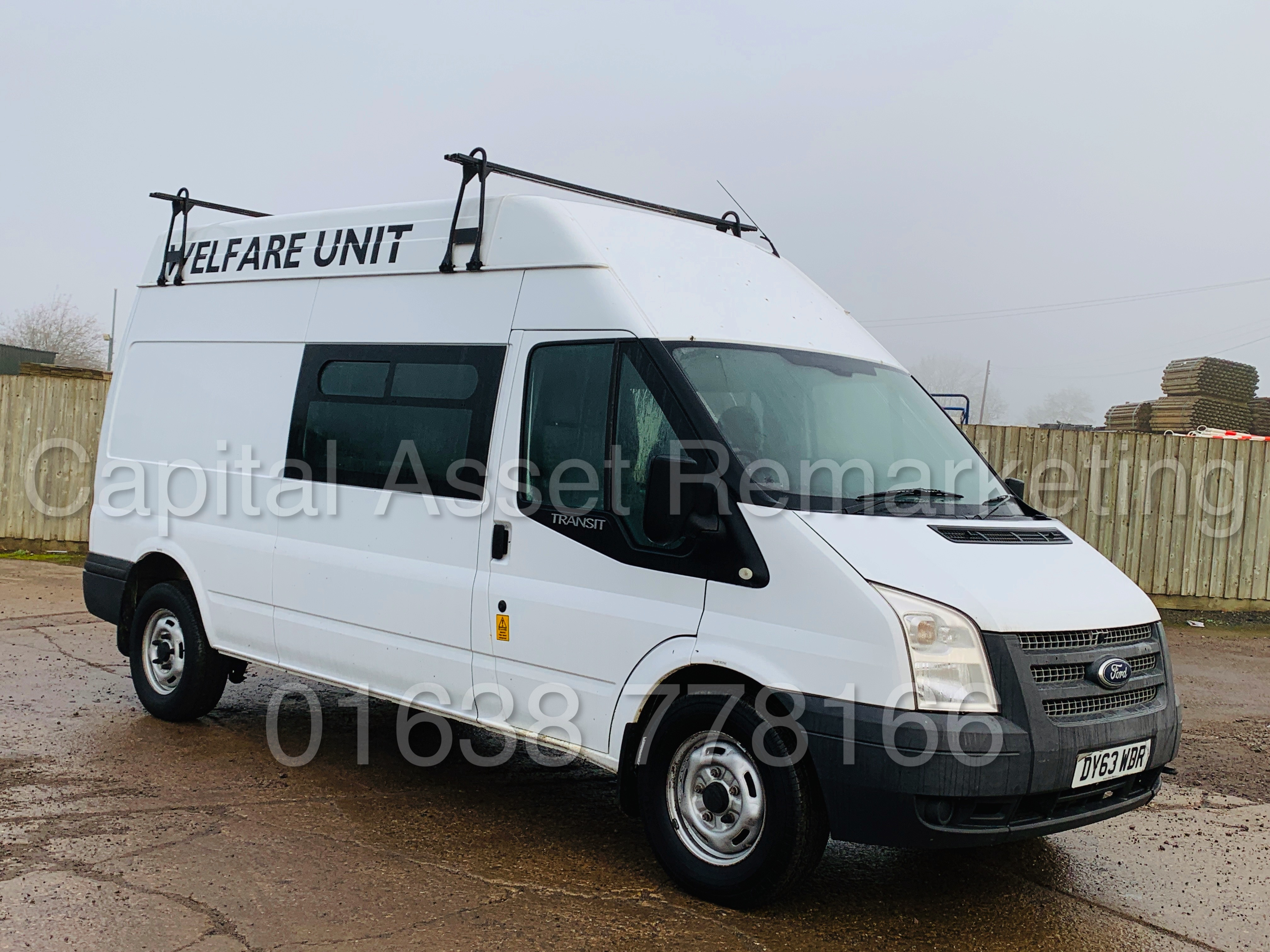 FORD TRANSIT T350 *LWB - 7 SEATER MESSING UNIT* (2014 MODEL) '2.4 TDCI - 6 SPEED' *ON BOARD TOILET* - Image 3 of 44