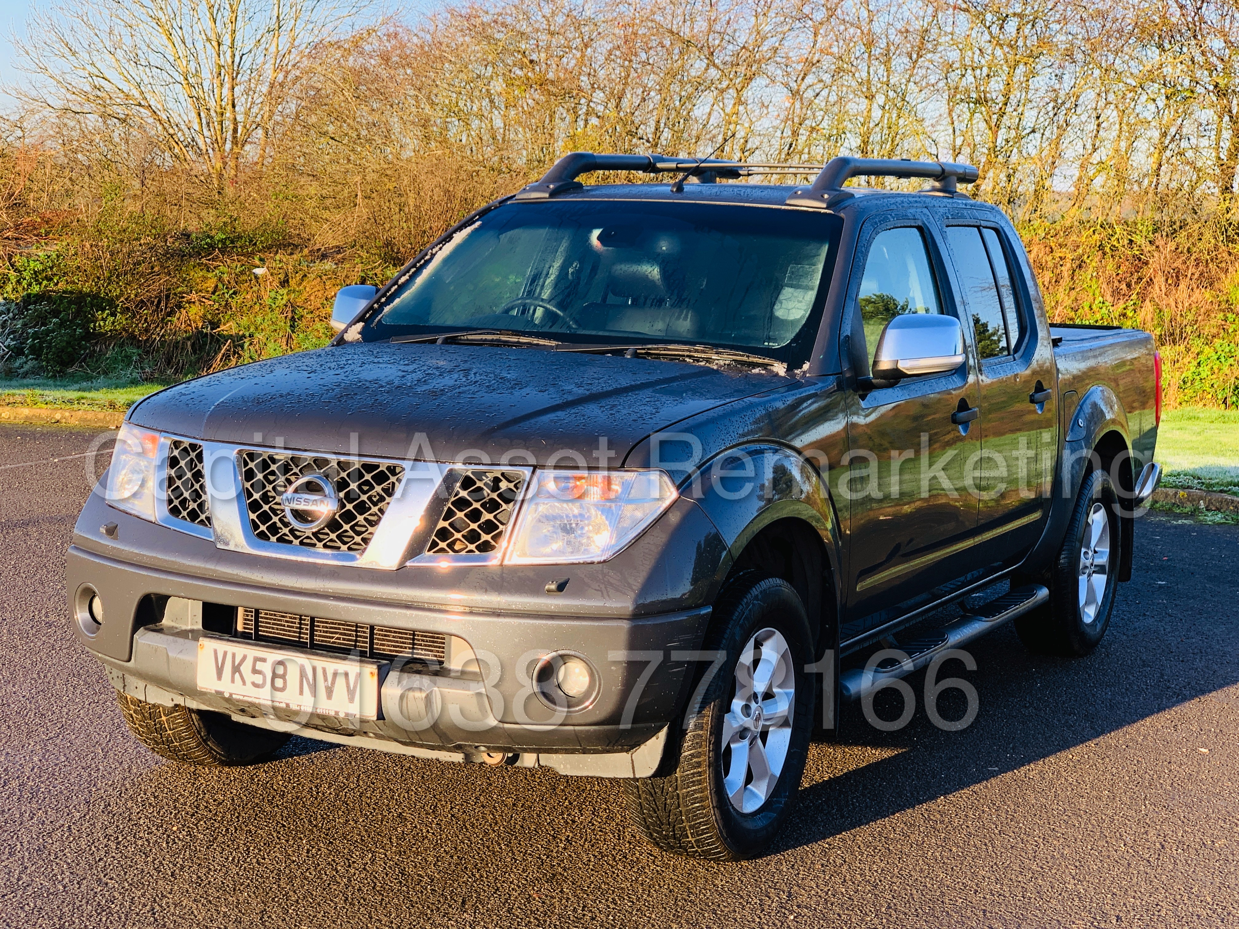 NISSAN NAVARA *OUTLAW* DOUBLE CAB PICK-UP *4X4* (2009) '2.5 DCI-171 BHP- 6 SPEED' *AIR CON* (NO VAT) - Image 4 of 42