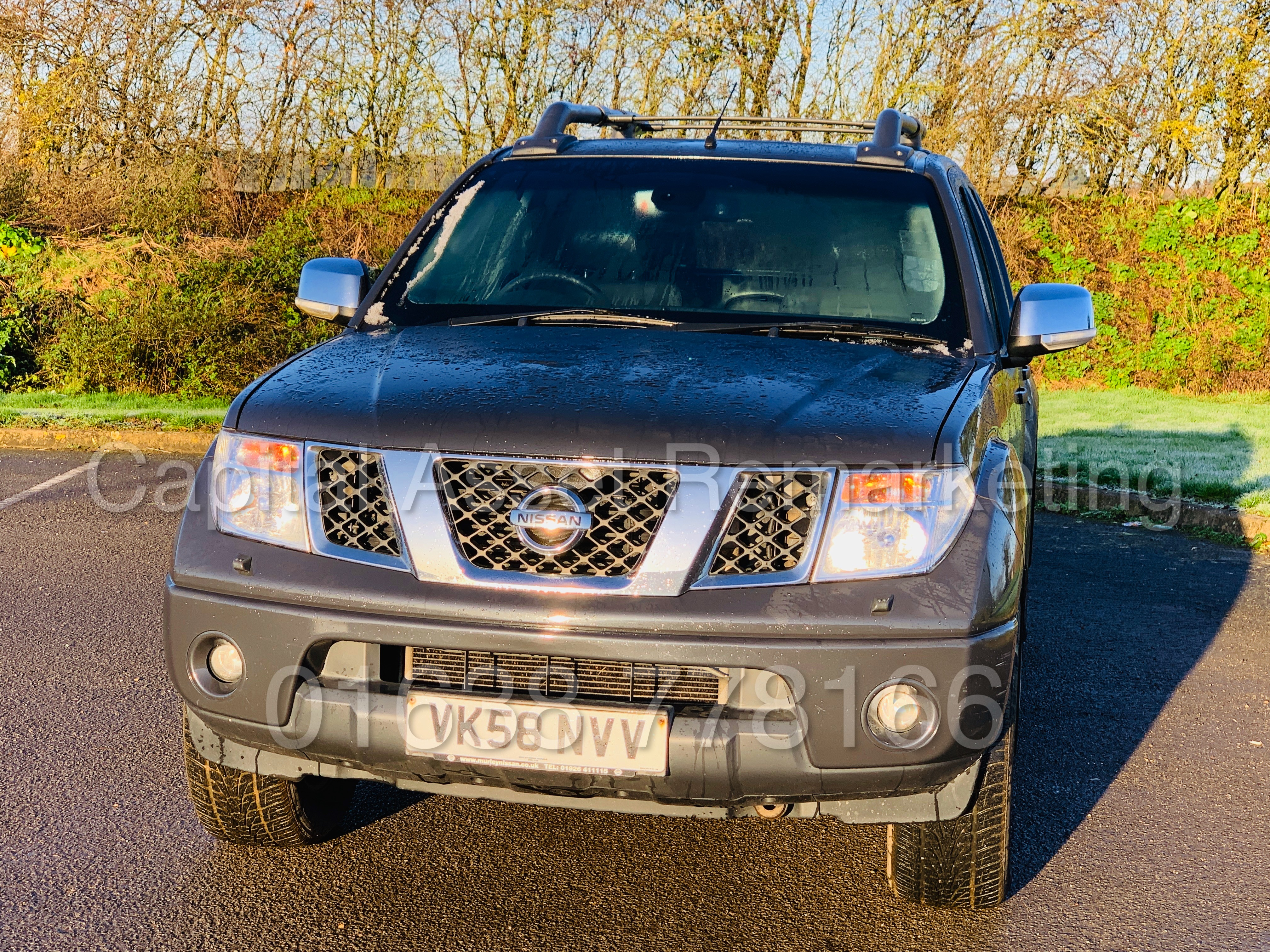 NISSAN NAVARA *OUTLAW* DOUBLE CAB PICK-UP *4X4* (2009) '2.5 DCI-171 BHP- 6 SPEED' *AIR CON* (NO VAT) - Image 3 of 42